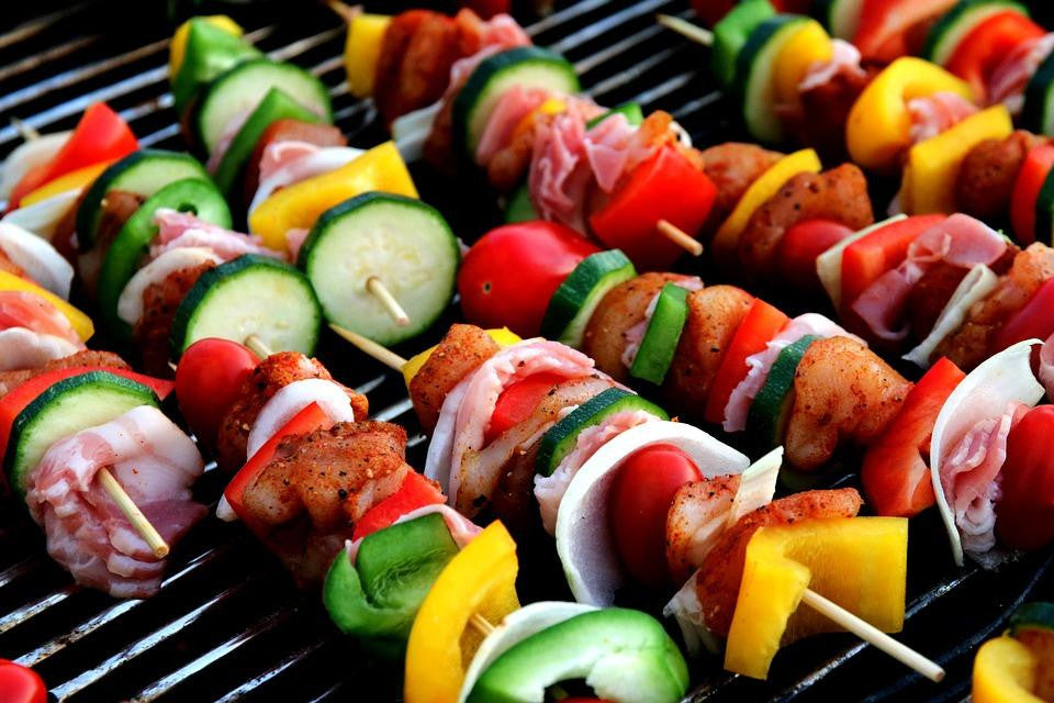 Mediterranean Chicken and Vegetable Kebabs Recipe