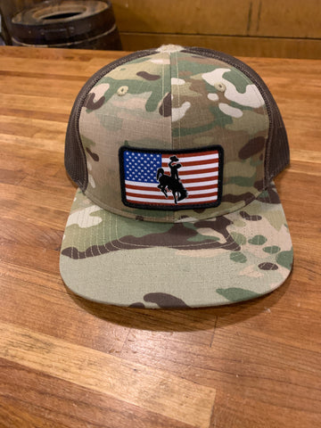 Steamboat Multicam Hat