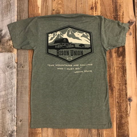 "Bison Union ""Mountain"" Shirt"