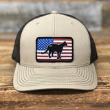 "Bison Union ""Mountain Lion"" Trucker Snapback Hats"