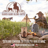 """Ranch Hand"" DECAF Coffee Blend 12oz Autoship  Auto renew"