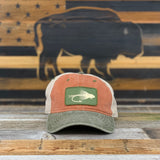 "The ""Buffalo Fly"" unstructured hat"