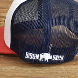 "Bison Union  ""Vintage Plains"" Foamie SnapBack Hat"