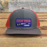 "Bison Union ""Smoke Hammer Rifle"" Snapback Hats"
