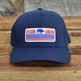 "Bison Union Vintage ""Plains Buffalo"" Flex Fit Hat"