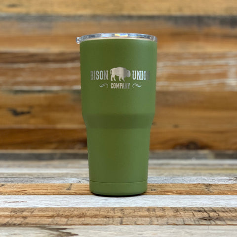Protect What You Love Bison Union Logo Tumbler