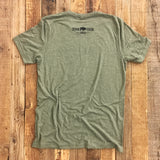 "Bison Union Co. ""Woods Over Hoods"" Triblend T-Shirt"