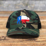 "Bison Union Co. ""Texas Buffalo"" Trucker Snapback Hat"