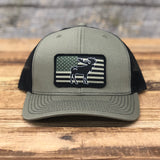 "Bison Union ""Moose Flag"" Trucker Snapback Hats"