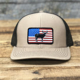 "Bison Union ""Deer Flag"" Trucker Snapback Hats"