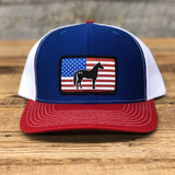 "Bison Union ""Horse Flag"" Trucker Snapback Hats"