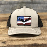"Bison Union ""Eagle Flag"" Trucker Snapback Hats"