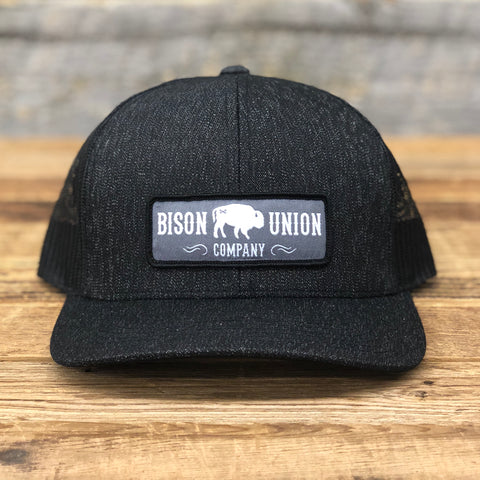 Bison Union Company's Classic Patch Structured Hat