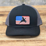 "Bison Union ""The Pheasant"" Flag Trucker Snapback Hats"