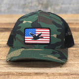 "Bison Union ""Duck Flag"" Trucker Snapback Hat"