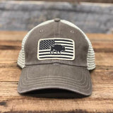 "Bison Union ""American Desert Flag"" Unstructured Snapback hats"