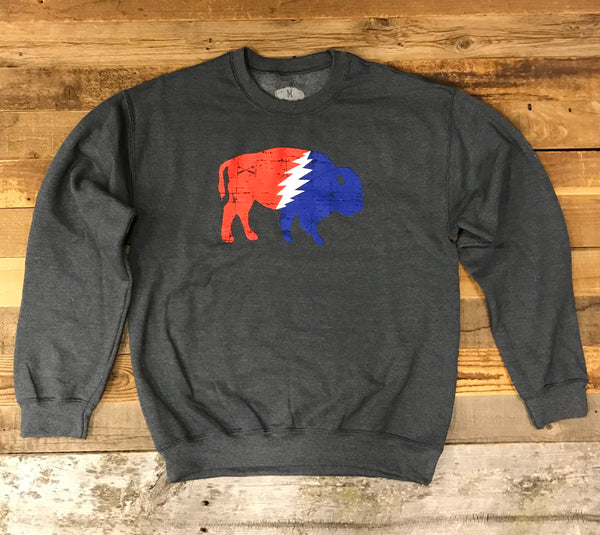 "The ""Thunder Buffalo"" Crew Sweatshirt"
