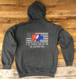 "The ""Thunder Buffalo"" Heavy Weight Hoodie"