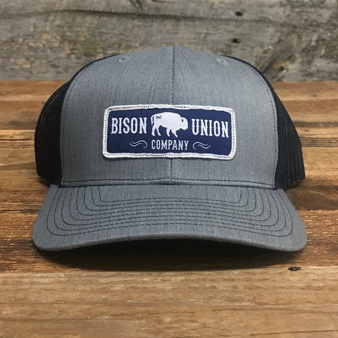 """Bison Union Classic Patch"" Structured Snapback Hat"