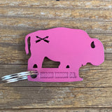 Bison Union Buffalo Keychain Bottle Openers