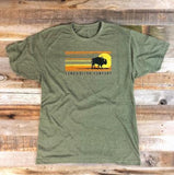 "Land & Bison ""Don't Chase the Buffalo"" Shirt"