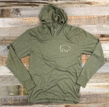"Bison Union ""Mountain"" Lightweight Hoodie"