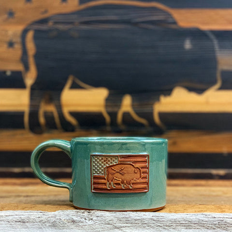 Biscuit & Gravy Buffalo Bowls - Tiffany Blue