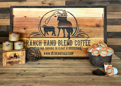 "Bison Union ""Ranch Hand"" Coffee Rounds Autoship"