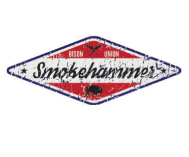 The Smokehammer Sticker