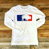 Major League Buffalo Tees - Short and Long Sleeve