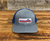"Bison Union Vintage ""Mountain Buffalo"" Structured Hat"