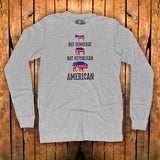 "The Bison Union Co. ""Be An American"" T-Shirt  (available in Short & Long Sleeve)"
