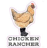 Chicken Rancher Sticker