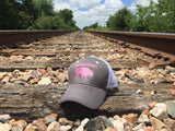 The Bison Union Trucker Velcro-back Structured Hats w/Classic Logo Front