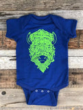 """Be The Bison"" Onesies"