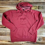 Be the Bison Old School Logo Hoodie