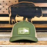 """Buffalo Fly"" Patch Structured 5 panel Hat"