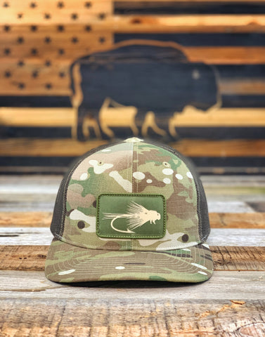 """Buffalo Fly"" Multicam® Snapback Patch Hat"