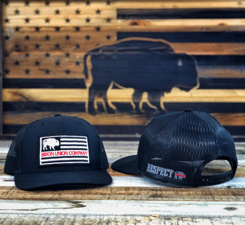 "RESPECT ""The Red Line"" Bison Union Hat"