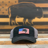 "Bison Union ""Bass Flag"" Unstructured Snapback Hat"