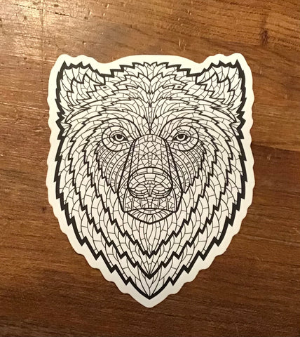 "Bison Union ""Bear Fight"" Sticker"