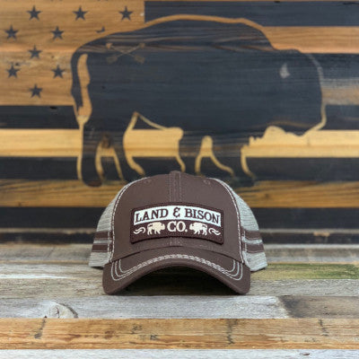 1612cac2315 Land   Bison  Bison Patch Hat – Bison Union