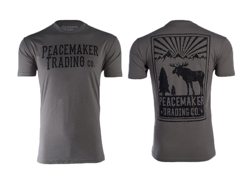 "The ""Mountain Moose"" Peacemaker T-Shirt"