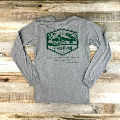 """The Mountain"" Long Sleeve"