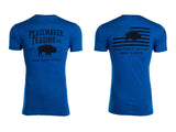 """The Peacemaker Buffalo"" Tee - Black Font"