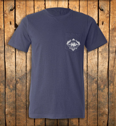 "The Bison Union ""Pocket"" Tee"