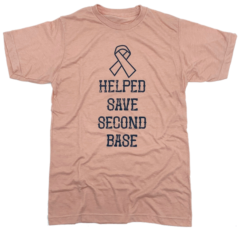 "The ""I Helped Save Second Base"" Tee"