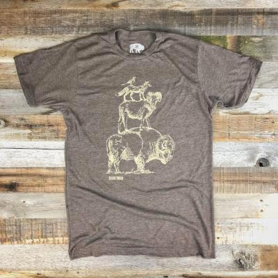 """Friends of The Bison"" Tee"