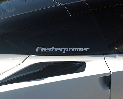 Fasterproms Window Sticker