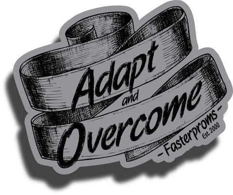Adapt & Overcome Stickers Set of 2